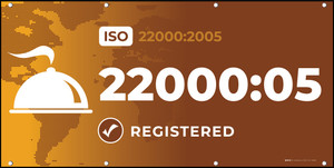 ISO 22000:2005 - Banner