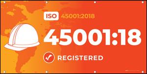 ISO 45001:2018 - Banner