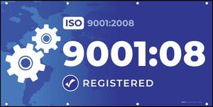 ISO 9001:2008 - Banner