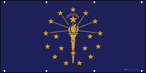 Indiana State Flag - Banner
