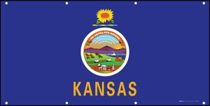 Kansas State Flag - Banner