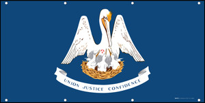 Louisiana State Flag - Banner