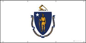 Massachusetts State Flag - Banner