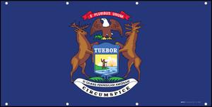 Michigan State Flag - Banner