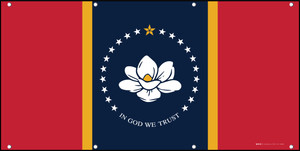 Mississippi State Flag - Banner