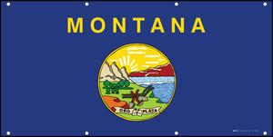 Montana State Flag - Banner