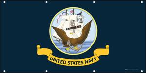 Navy Flag United States Navy - Banner