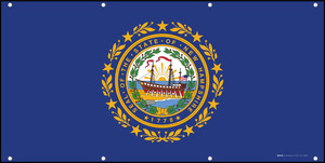 New Hampshire State Flag - Banner