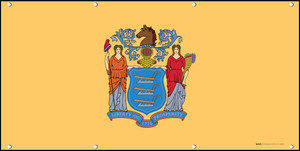 New Jersey State Flag - Banner