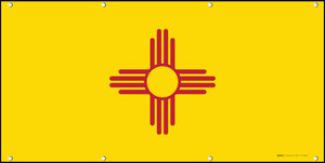 New Mexico State Flag - Banner
