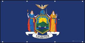 New York State Flag - Banner