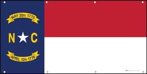North Carolina State Flag - Banner