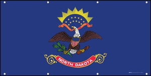 North Dakota State Flag - Banner