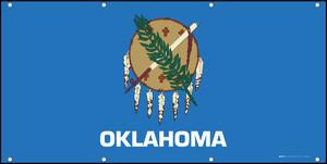 Oklahoma State Flag - Banner