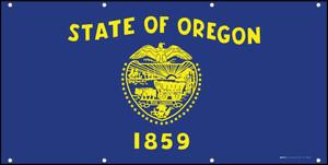 Oregon State Flag - Banner