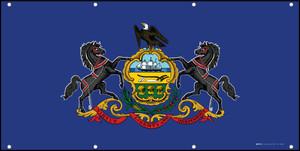 Pennsylvania State Flag - Banner