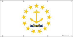 Rhode Island State Flag - Banner
