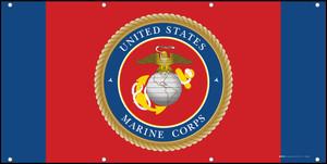 U.S. Marine Corps Garden - Banner