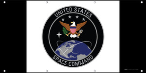 U.S. Space Command Flag - Banner