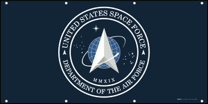 U.S. Space Force Flag - Banner