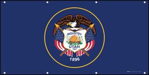 Utah State Flag - Banner