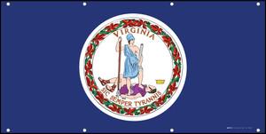 Virginia State Flag - Banner