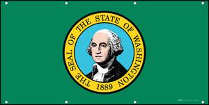 Washington State Flag - Banner