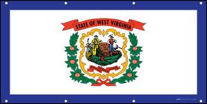 West Virginia State Flag - Banner
