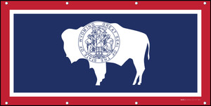 Wyoming State Flag - Banner