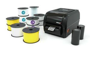 LabelTac® Pro X QR Code Printer Bundle