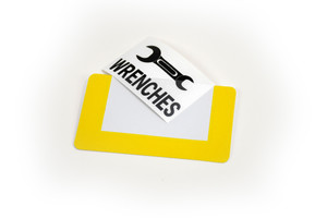 Interchangeable Label Holder - Pack of 10
