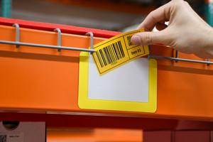 Rack Label Holders - Pack of 10