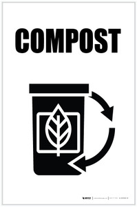 Compost with Icon Portrait - Label