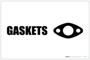 Gaskets with Icon Landscape - Label