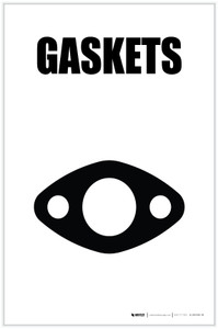 Gaskets with Icon Portrait - Label
