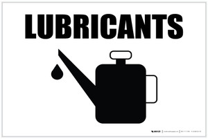 Lubricants with Icon Landscape - Label