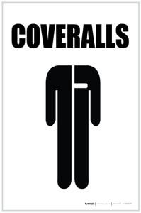 Coveralls with Icon Portrait - Label
