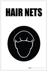 Hair Nets with Icon Portrait - Label