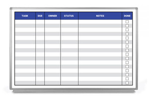 Task List Whiteboard