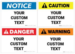 Custom ANSI Label