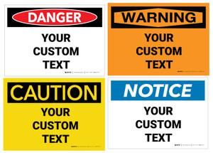 Custom OSHA Label
