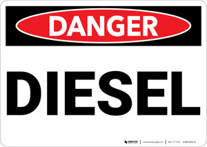 Danger: Diesel - Wall Sign