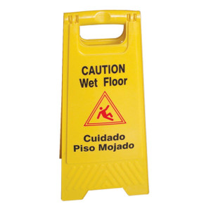 Wet Floor Caution Sign English / Spanish