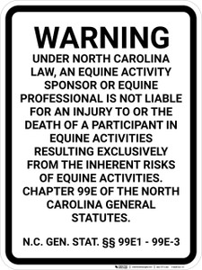 Maine Agritourism Liability ME - Wall Sign