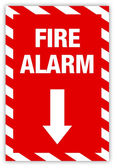Fire Alarm Label