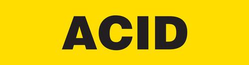 Acid Pipe Marking Wrap (Yellow/Black)