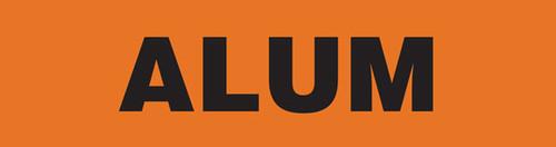 Alum Pipe Marking Wrap (Orange/Black)