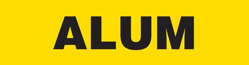 Alum Pipe Marking Wrap (Yellow/Black)