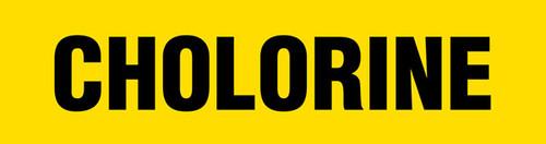Chlorine Pipe Marking Wrap (Yellow/Black)