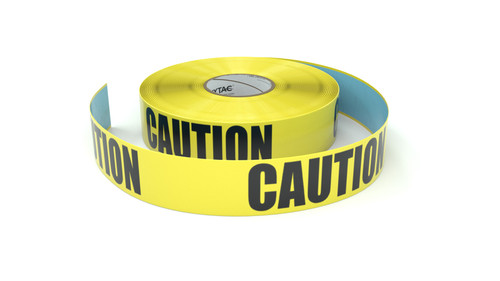 Caution - Radiation Area - Inline Printed Floor Marking Tape